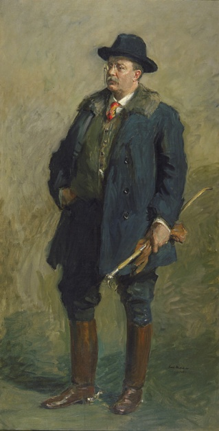 Portrait of President Theodore Roosevelt by Gari Melchers