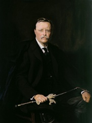 Roosevelt near the end of his presidency Adrian Lamb (1901-1988) after the 1908 oil by Philip Alexius de Laszlo Oil on canvas, 1967 National Portrait Gallery, Smithsonian Institution, Washington, D.C. Gift of the Theodore Roosevelt Association