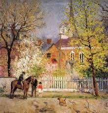 """St. George's Church,"" by Gari Melchers"