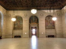 Detroit Public Library murals by Gari Melchers