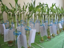Bamboo Wedding Favors