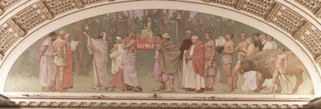 Peace Mural, Library of Congress, Washington, D.C.