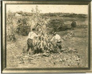 """Shocking Corn,"" by Gari Melchers, private collection, circa 1920s"