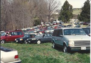 1992 Egg Hunt  cars