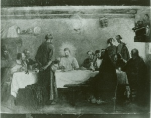Last Supper Lamplight