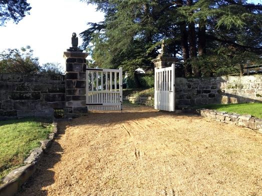 Gate post restoration